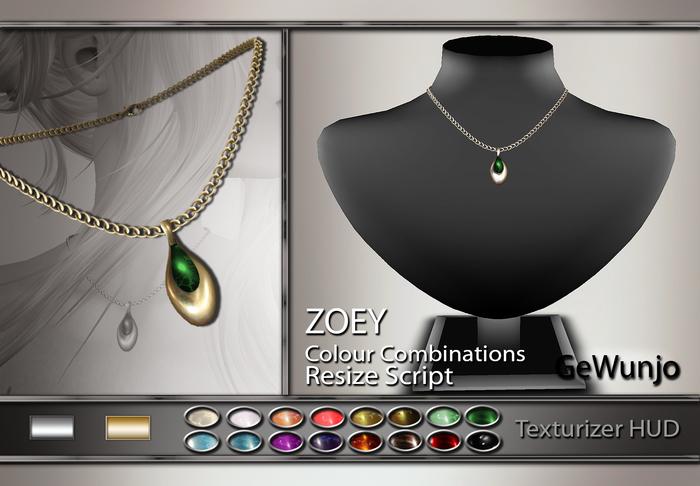 GeWunjo : ZOEY necklace