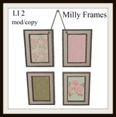 Milly frames
