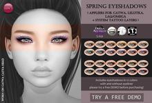 Izzie's - DEMO Spring Eyeshadows