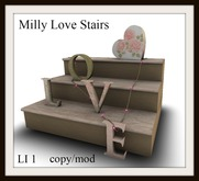 Milly love stairs