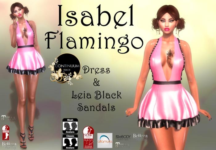 Continuum Isabel Flamingo