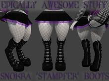 ~EAS~ snokra 'stampfer' boots