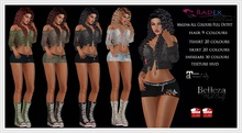 RADEX Mesh Malena All Colours Full Outfit