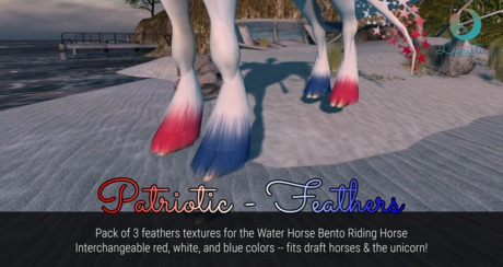 Lunistice: Patriotic - Water Horse Feathers