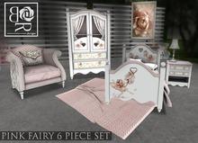 [BR] Pink Fairy Child Bed SET