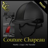 CC Equestrian Riding Helmet {Black}