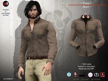 A&D Clothing - Shirt -Yves- Clay