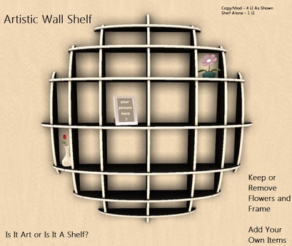 Artistic Wall Shelf