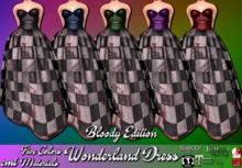 Sweet Meats ~ Wonderland Dress - Bloody Edition