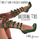 Paper.Sparrow - Ballerina - emerald