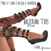 Paper.Sparrow - Ballerina - black