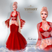 ::TD:: Victoria Gown with Appliers ~ Red [Maitreya,Belleza,Omega,TMP,Slink,Classic]