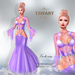 ::TD:: Victoria Gown with Appliers ~ Purple [Maitreya,Belleza,Omega,TMP,Slink,Classic]