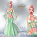 ::TD:: Victoria Gown with Appliers ~ Green [Maitreya,Belleza,Omega,TMP,Slink,Classic]