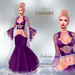 ::TD:: Victoria Gown with Appliers ~ Dark Purple [Maitreya,Belleza,Omega,TMP,Slink,Classic]