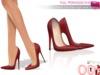 %50SUMMERSALE Full Perm Rigged Pointy Toe Killer High Heel Stilettos For Voluptuous, Slink High Heel, Maitreya