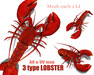 [ FULL PERM ] LOBSTER / 3 type