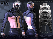 A&Y Nephilim Cyber Top - Black