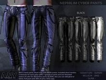 A&Y Nephilim Cyber Pants - Black