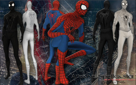 bag SpiderMan Suite *Arcane Spellcaster*Ak-Creations