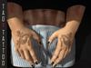 TAOX TaTToo Hands Anchor & BoM [ Bakes on Mesh ] & Appliers Omega Legacy Classic Slink Maitreya Vista