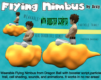 Flying Nimbus from Dragon Ball - by 8exy