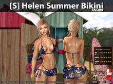[S] Helen Summer Bikini Anchor