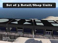 Retail Units (Set of 3)