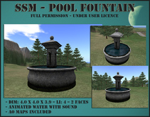 SSM - Pool Fountain