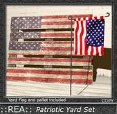::REA:: 4th of july yard set