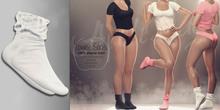 (AMD) LoungeWear Socks - White (wear to unpack)