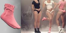 (AMD) LoungeWear Socks - Pink (wear to unpack)
