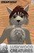 Luskwood Cream Wolf Furry Avatar - Male