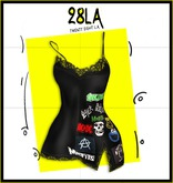28LA. Lace Camisole Patches