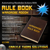 (CTS) Wardrobe Rulebook v1.4: Automate your Wardrobe
