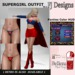FJ Designs - SUPERGIRL OUTFIT