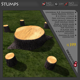 Stumps Game Theme - REQUIRES PURCHASE OF COMPATIBLE GAME LICENSE