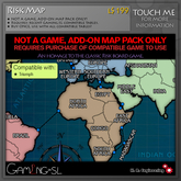 Risk Map Game Addon - REQUIRES PURCHASE OF COMPATIBLE GAME