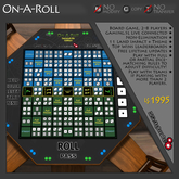 K.R. Engineering On-A-Roll Board Game
