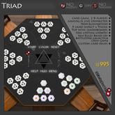 K.R. Engineering Triad / Pyramid Card Game - BattleStar Galactica