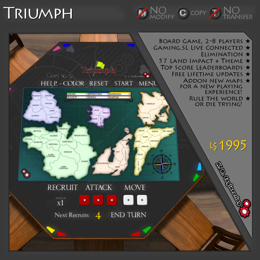 K.R. Engineering Triumph - A Game of Global Domination