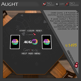 K.R. Engineering Aught Card Game - Uno Game