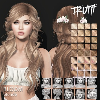 TRUTH Bloom (Fitted Mesh Hair) - Blonde