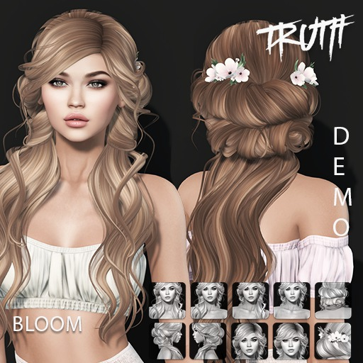 TRUTH Bloom (Fitted Mesh Hair) - DEMO