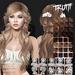 TRUTH Bloom (Fitted Mesh Hair) - Brunette