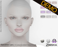 Zibska ~ Sandrine Lips Demo [Lelutka/Catwa/Omega]