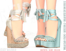 REIGN.- CERY WEDGES- FATPACK
