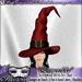 """*~*Illusions*~* """"Esmerelda"""" Witch's Hat"""