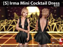 [S] Irma Mini Cocktail Dress Demo