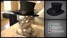 Top Hat Black